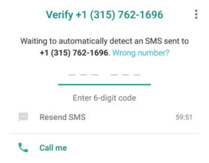 fake usa number for whatsapp